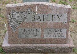 Wavy June <i>Canaday</i> Bailey