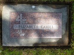 Elizabeth Lizzie <i>O'Brien</i> Cahill