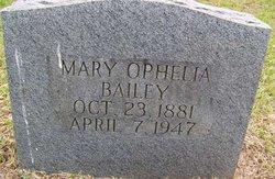 Mary Ophelia Bailey