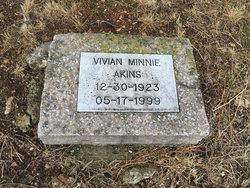 Vivian Minnie <i>Cook</i> Akins