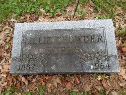 Lillie <i>Crowder</i> Burns