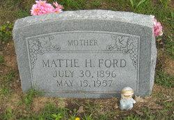 Mattie Hattie <i>Edwards</i> Ford