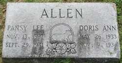 Pansy Lee Allen