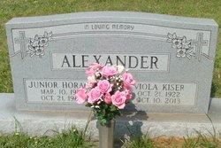 Viola Annican <i>Kiser</i> Alexander