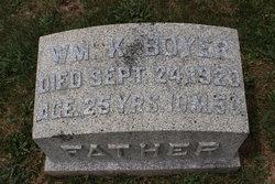 William K Boyer