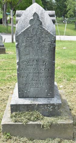 Susan <i>Walker</i> Vance