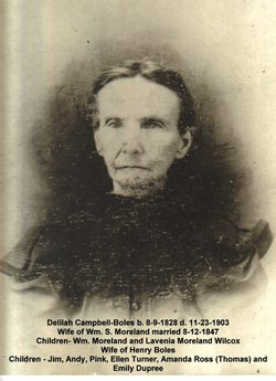 Delila <i>Campbell</i> Boles