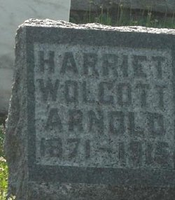 Harriet May <i>Wolcott</i> Arnold