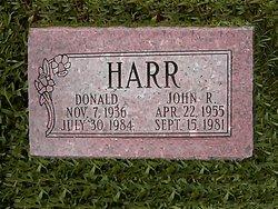 John Robert Johnny <i>Lee</i> Harr