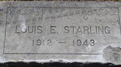 Louis Edgar Starling