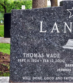 Thomas Wade Landry