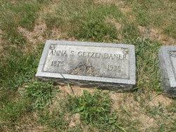 Anna <i>Sennett</i> Getzendaner
