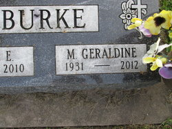 Mary Geraldine Gerrie <i>Shannon</i> Burke