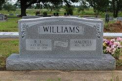 Eula Maudell <i>Mitchell</i> Williams