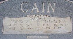 Tommie <i>Howard</i> Cain
