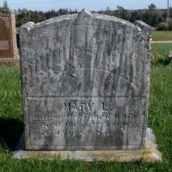 Mary L <i>Caler</i> White
