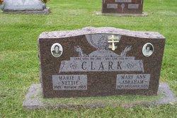 Mary Ann <i>Clark</i> Abraham