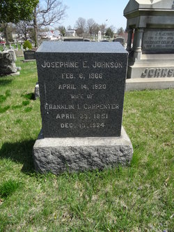 Josephine E <i>Johnson</i> Carpenter