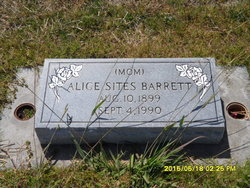 Alice <i>Sites</i> Barrett