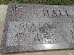 Gladys Mae <i>Squire</i> Hall