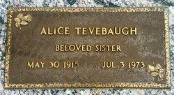 Alice <i>Smoot</i> Tevebaugh