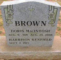 Doris <i>MacIntosh</i> Brown