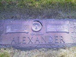 America E Alexander
