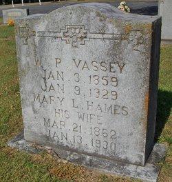 Mary Louisa <i>Hames</i> Vassey