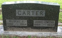 Jane Janie <i>Owens</i> Carter