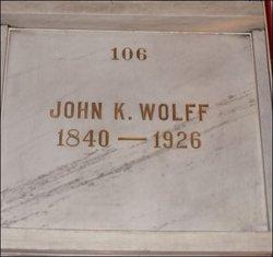 John Kneasal Wolff