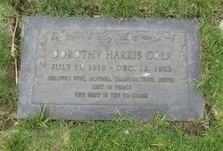 Dorothy Bernadine <i>Harris</i> Colp
