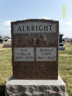 Cora May <i>Shirk</i> Albright