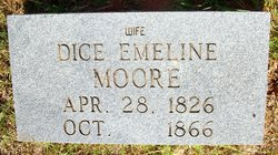 Dicey Emaline <i>Turner</i> Moore