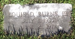 Lieut Louis Dassonville Lou Burns, III