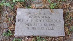 Pvt Alfred H. Richardson
