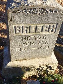 Lydia Ann <i>Hower</i> Breech