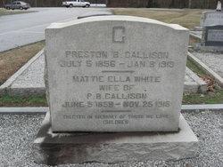 Preston Brooks Callison