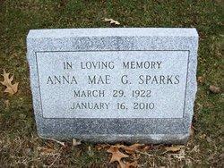 Anna May <i>Gsell</i> Sparks
