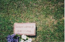 Sarah <i>Eaves</i> Arnold