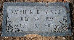 Mary Kathleen <i>Kilgroe</i> Braden