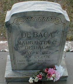 Margarita <i>Cabeza de Baca</i> Cabeza De Baca