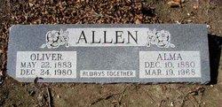 Minnie Alma <i>Landrum</i> Allen