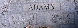 Nancy Ann <i>Littlefield</i> Adams