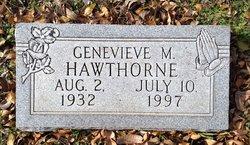 Genevieve M Ginny <i>Lambert</i> Hawthorne