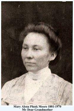 Mary Alena Lena <i>Plunk</i> Moore
