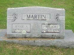 Jennie V Martin