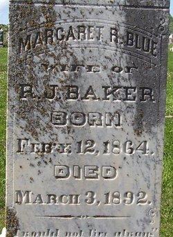 Margaret Rebecca <i>Blue</i> Baker