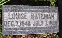Maria Louise <i>Latimer</i> Bateman