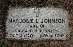 Marjorie Louise <i>Smith</i> Johnson