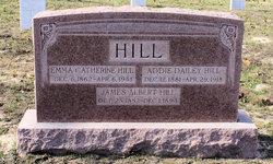 Emma Catherine Miltie <i>Dailey</i> Hill